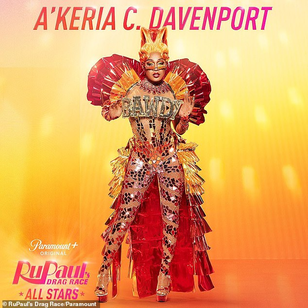 Twerk time! A'Keria C. Davenport vows to show more of her body-ody-ody during season six, having placed 3rd/4th during RPDR season 11