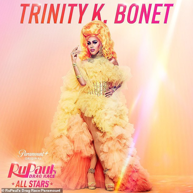Fierce: And last but not least, Trinity K. Bonet previously placed seventh during RPDR season six
