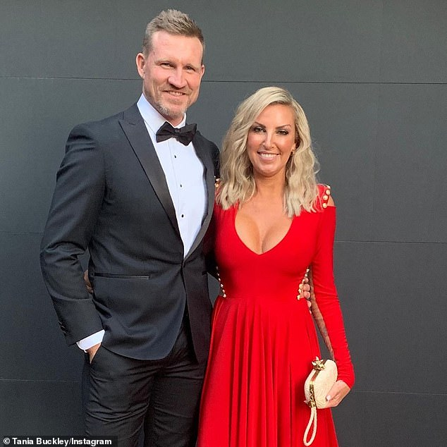 It's over:The pair's relationship emerged just weeks after Nathan (left) announced his split from his wife of 18 years, Tania Minnici (pictured), last December