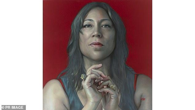 German-born, Sydney-based artist Kathrin Longhurst has won the Archibald Packing Room Prize for this portrait of Australian singer Kate Ceberano