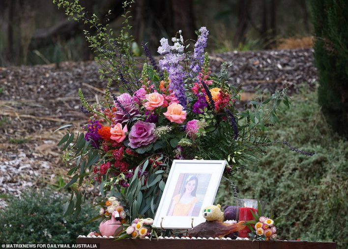 Ms Rafferty told Daily Mail Australia earlier in the week her beloved daughter had 'a greater sadness than any of us could fathom... which spiralled and deepened'