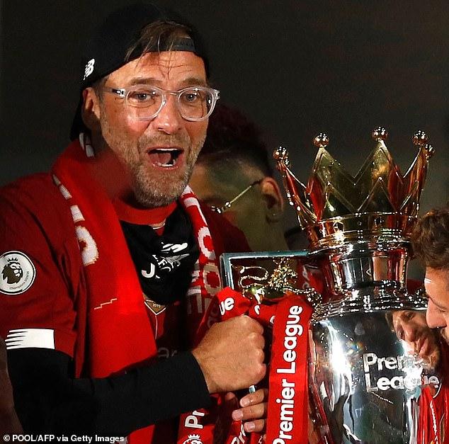 Jurgen Klopp led Liverpool to their first Premier League in 30 years - his third league triumph