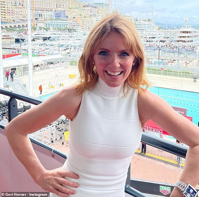 Quids in:Geri Horner has reportedly made a whopping £3.5 million in just two years