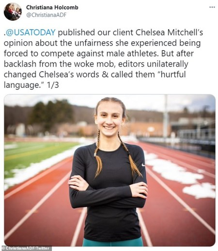 Here We Go: USA Today Replaces 'Male' With 'Transgender' in Op-Ed by Connecticut's Fastest Female Runner Who Called Out 'Unfair Fight' and 'Tangible Harms' of Competing Against 'Male Runners'