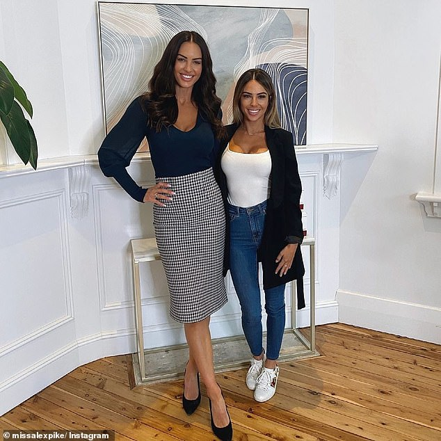 'I had a visit from this lovely lady today': In February, she provided cosmetic services for none other than KC Osborne from Married At First Sight at her clinic in Albury, New South Wales