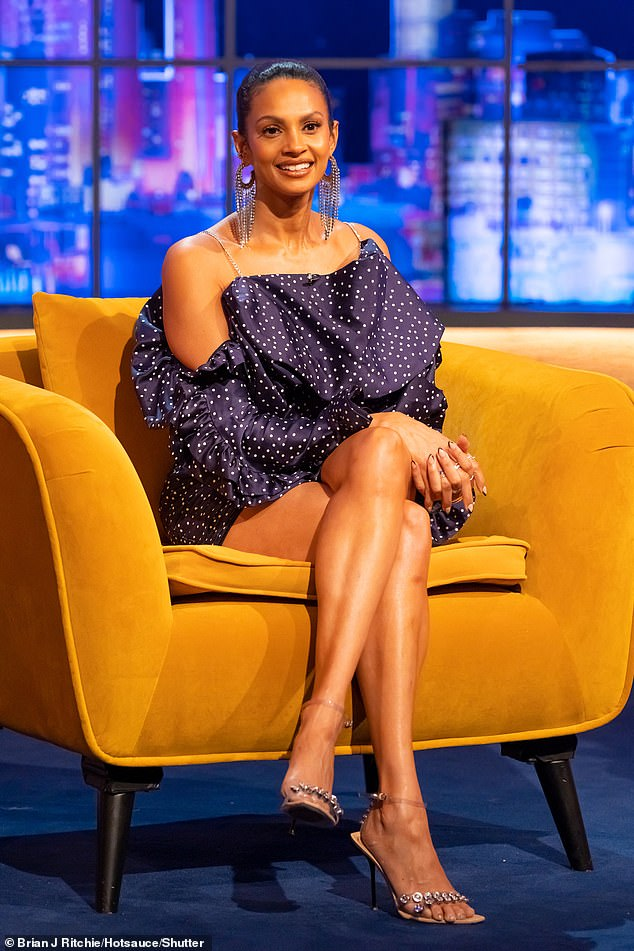 Multitasking mama:Alesha Dixon proved she's showing no signs of slowing down as she chatted about her wellbeing brand and homeschooling on The Jonathan Ross Show