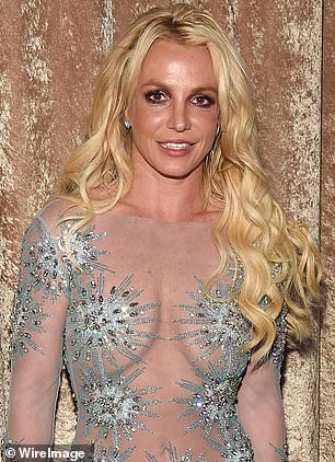 Pop princess: Britney Spears has paid a timely tribute to Princess Diana