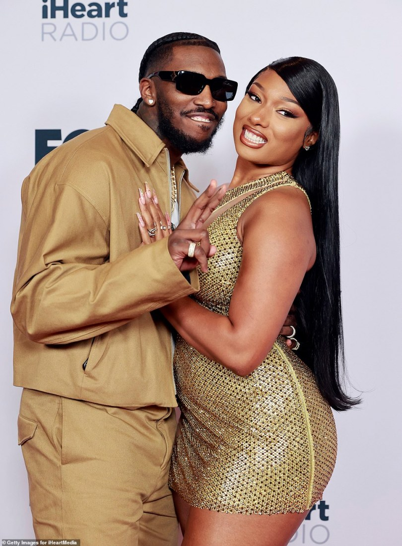 Boyfriend:She was joined by her hunky boyfriend Pardison Fontaine, who posed for several snaps on the red carpet with her