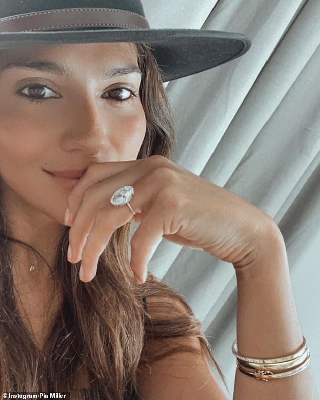 Love and marriage:Pia announced her engagement to Patrick, who is the executive chairman of the Endeavor talent agency, on November 28. The engagement isrumoured to be worth $1.9million