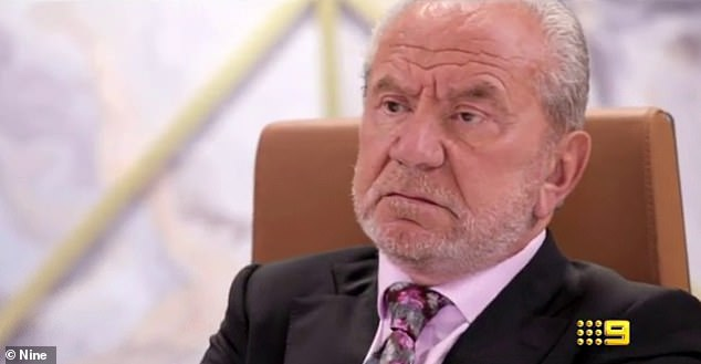 No show: The attack comes after Lord Sugar (pictured) allegedly failed to appear on theFifi, Fev and Nick show as promised on Thursday