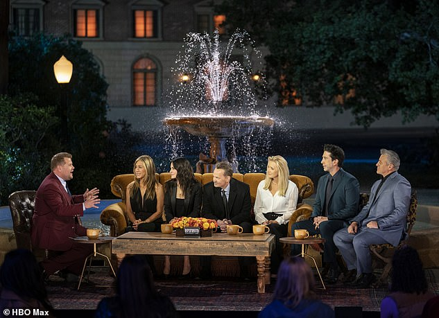'Banal': It came after the highly-anticipated Friends reunion was branded 'bloated' and jammed with 'tiresome filler' by critics