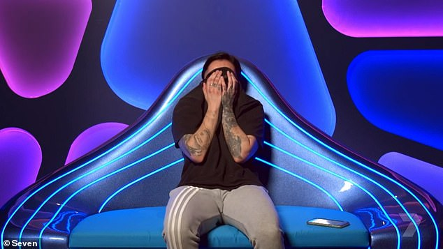 Not always who you think: 'During the main days with all the challenges, he's there but not during the late nights or days off,' the reality TV hunk told PopSugar Australia. Pictured: The Diary Room, where contestants speak to Big Brother