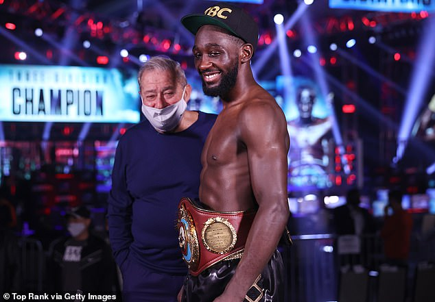 Terence Crawford is an option Taylor has called 'awesome' if he makes a move to welterweight