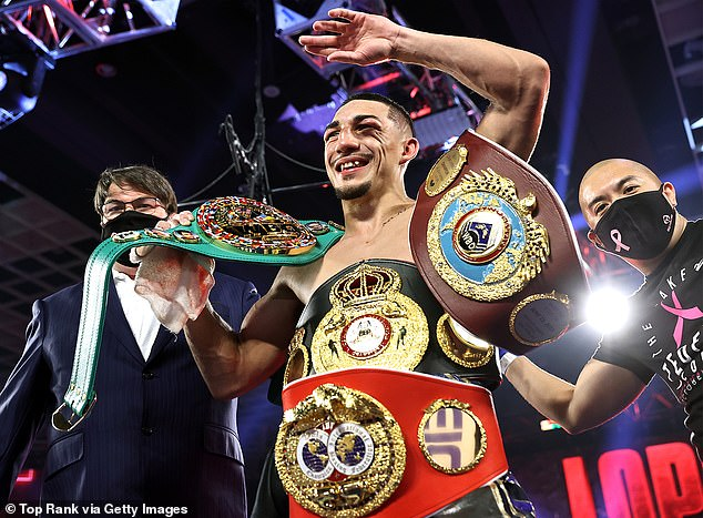 Next the Scottish fighter could face-off against fellow unified champion Teofimo Lopez