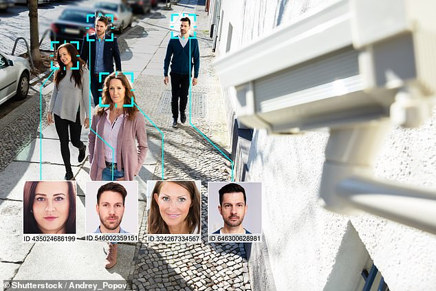 More than 40 per cent of the tech survey's respondents supported the use of controversial facial recognition tech for verifying the identity of citizens (as depicted)