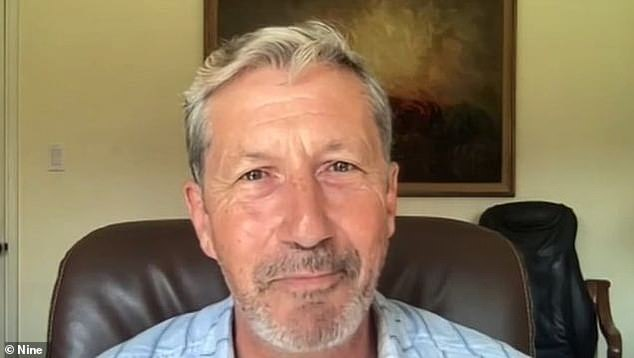 Hope!Charles Shaughnessy (pictured) has given fans of The Nanny hope that there may be a reboot of the classic sitcom coming soon