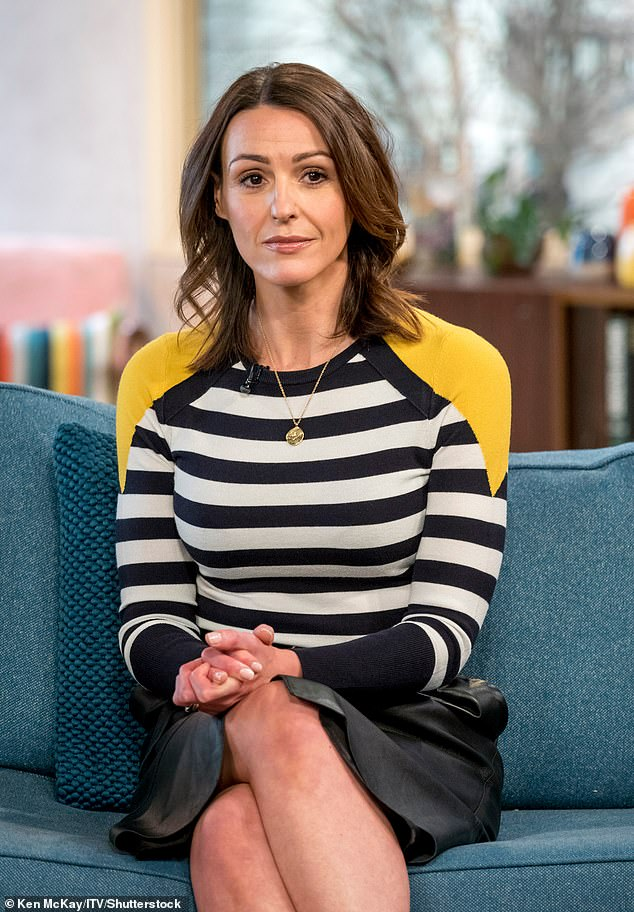 Heartbreaking: Suranne Jones, 42, has revealed that her father died from Covid-19, earlier this year