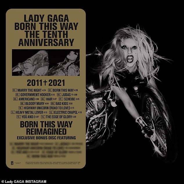 New again:Lady Gaga has announced a special 10th anniversary edition of Born This Way. The seminal 2011 LP turned a decade old at the weekend, and the pop superstar has announced the upcoming release will include six new renditions of tracks from the record featuring LGBTQIA+ artists