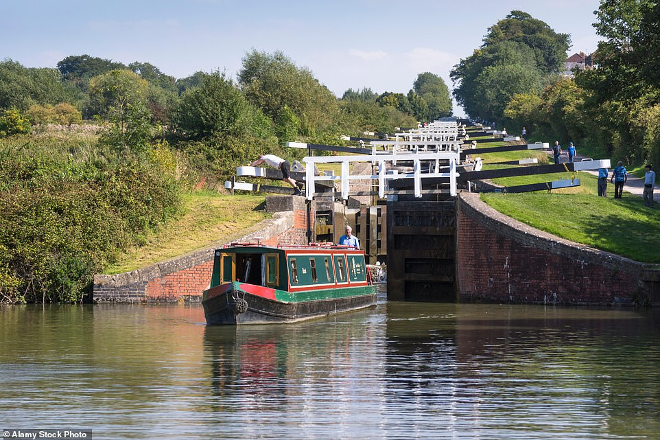 The Kennet and Avon Canal, constructed to link Bristol, via the Avon, with Thames tributary the Kennet, is an 'all-time favourite'