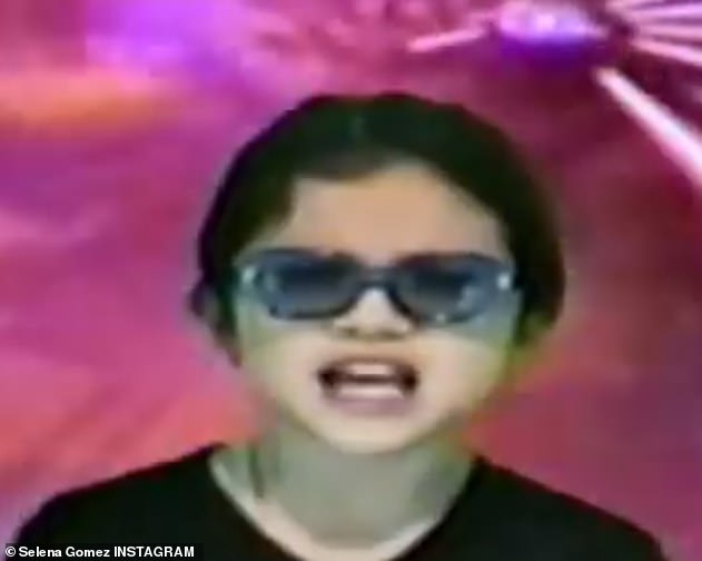 Future superstar! Selena Gomez posted a throwback video of herself as a child singing the song Don't Go Knockin' on My Door.. which has caught Britney Spears' attention