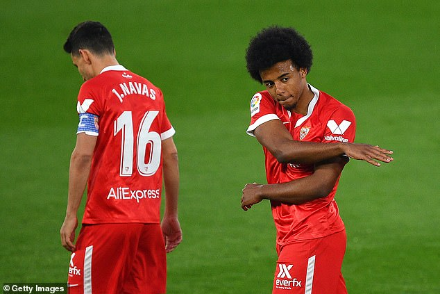 Sevilla defender Jules Kounde has revealed he could look to leave the club this summer