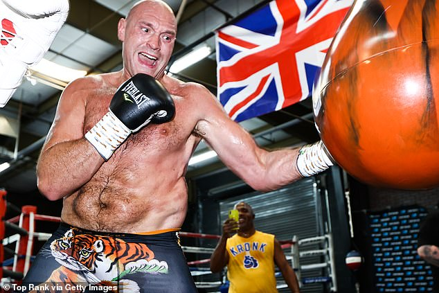 Fury had been set to fight Anthony Joshua but has been ordered to fight Wilder again