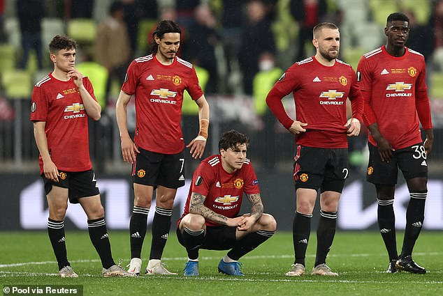 Manchester United were beaten by Villarreal in the Europa League final on Wednesday