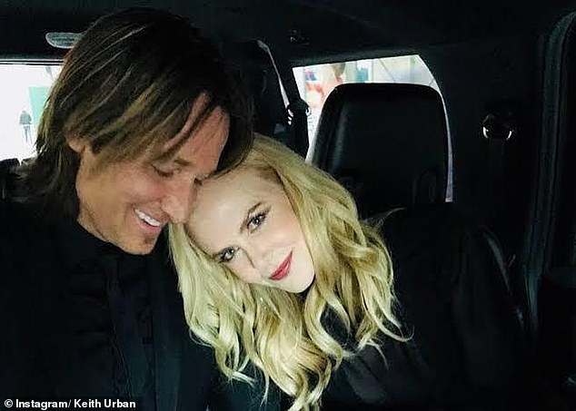 Returned:Nicole Kidman (right), her husband Keith Urban (left) and their daughters have also been back in town since last year