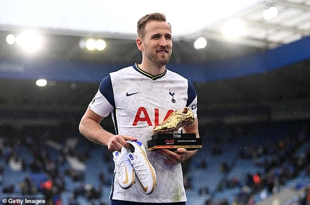 Kane could be set to leave Tottenham as he looks to improve his chances of winning trophies