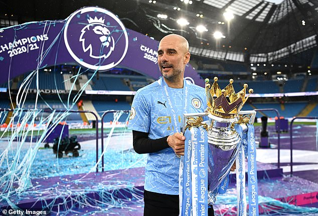 Man City manager Pep Guardiola has won nine league title in three different countries