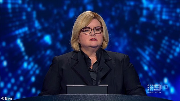 Oh no:Meanwhile, Magda's new Channel Nine game show The Weakest Link has suffered dismal ratings