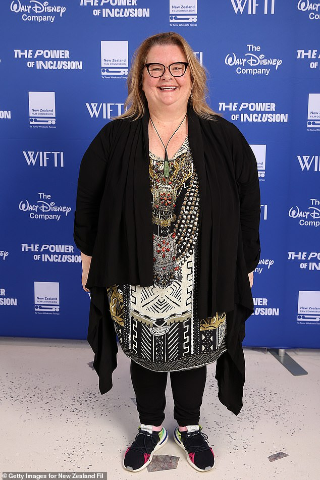 Some help:Magda Szubanski (pictured) has offered some tips for coping with anxiety as Melbourne is plunged into it's fourth Covid-19 lockdown