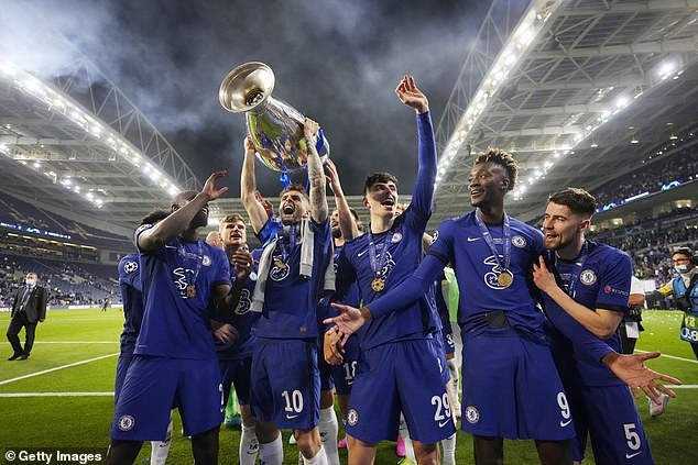 Chelsea won their second Champions League trophy following victory over Manchester City