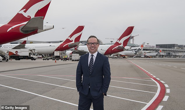 A powerful trade union in the Labor Party wants the government to buy back Qantas so passengers aren't ripped off. Pictured is chief executive Alan Joyce