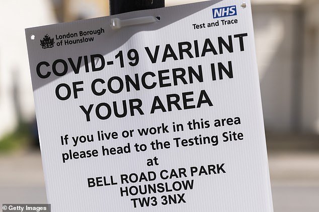 Hounslow is currently under surge testing due to increased coronavirus variant cases