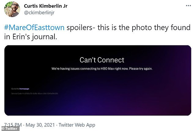 Spoiler alert: Fans of the show took to Twitter to report the outage