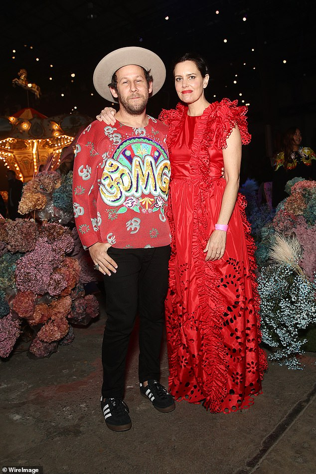 Start power:Indie singer Ben Lee (left) made a rare public appearance with his American wife Ione Skye (right)