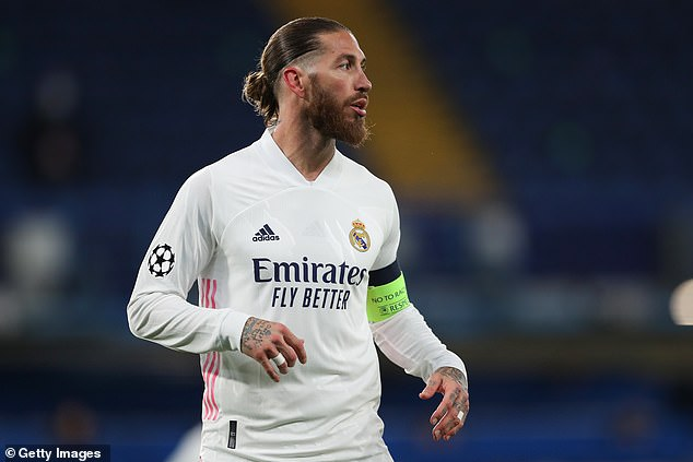 Manchester City are prepared to offer Sergio Ramos a two-year contract, according to reports