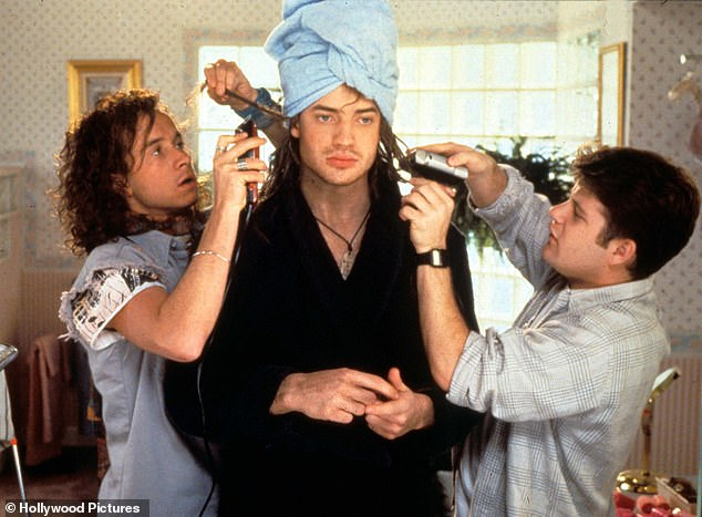 Storyline: Encino Man followed a caveman who attempts to adjust to modern life after he is found by two Californian teenagers