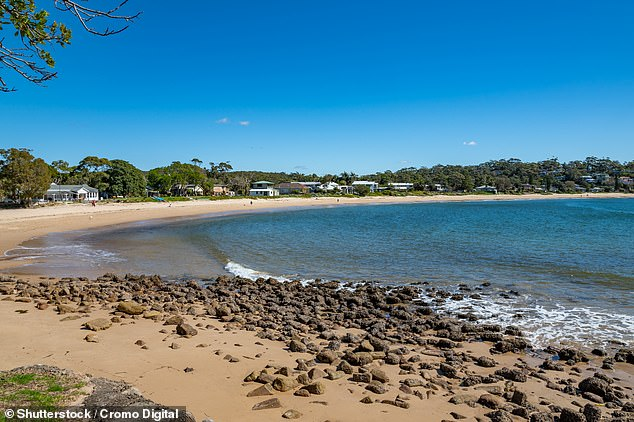 Emergency services found his boat stuck on rocks at Bundeena (pictured) before finding the 90-year-old's body aboard
