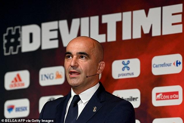 Belgium boss Roberto Martinez however has been left sweating over the midfielder's ability