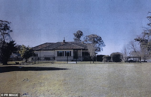 Darcy, the sole beneficiary of a Dunbar's estate (pictured) - now accused of murdering him and casting it as suicide – googled redback spiders and mushrooms six months before his death