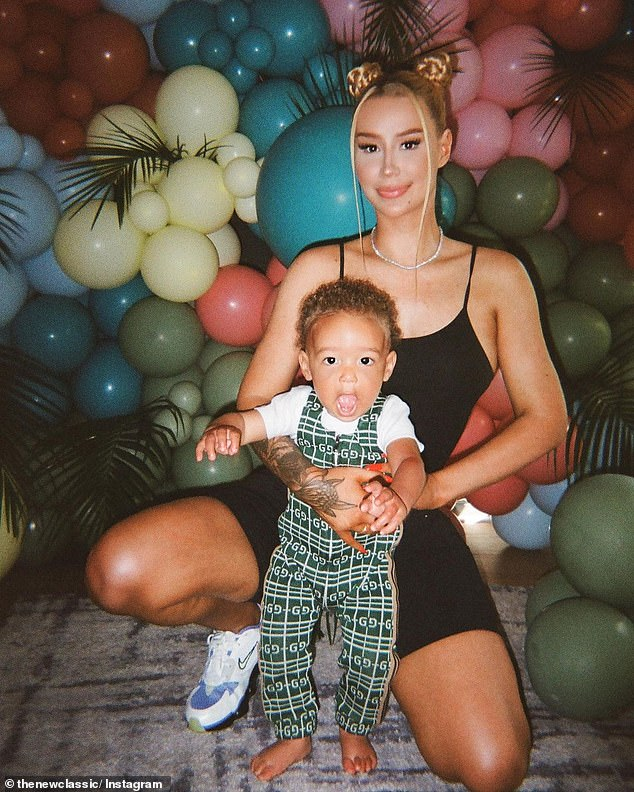 Too cute! In addition to her music career, and now fragrance, Iggy is a doting mother to a one-year-old son named Onyx, who she shares with ex-boyfriend Jordan Terrell Carter, a.k.a. Playboi Carti.