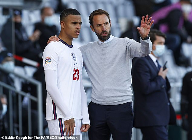 Greenwood was later forced to pull out of Gareth Southgate's England squad through injury