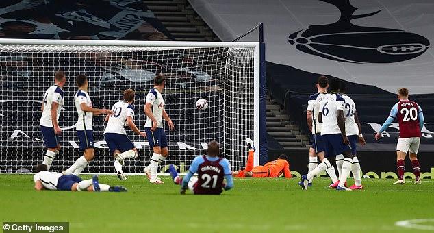 Manuel Lanzini's thunderbolt is one of nine goals listed for Premier League Goal of the Season