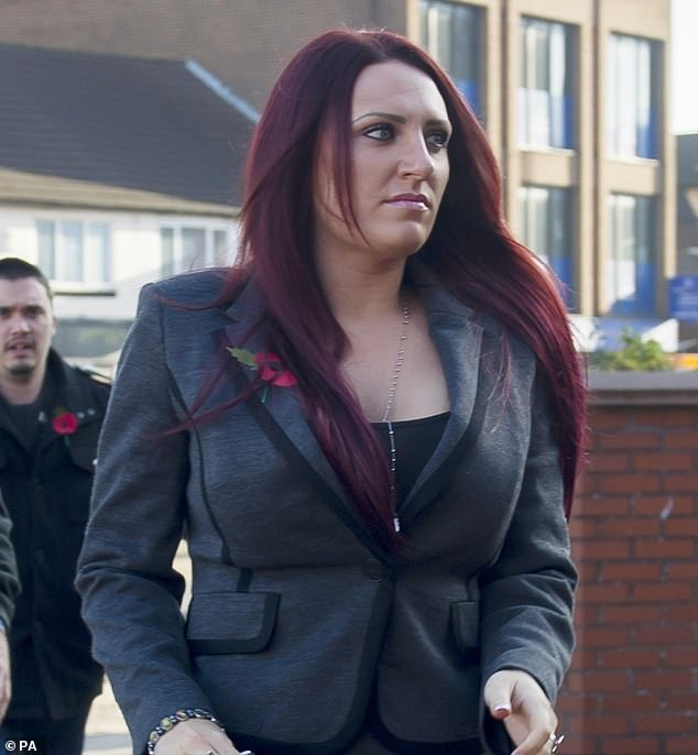Jayda Fransen (pictured), the former deputy leader of the far-right fascist group, is to stand for election in Batley and Spen