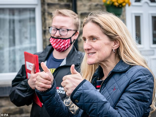 Far-right Fransen will stand against Ms Cox's sister, Kim Leadbeater (pictured), who is standing for Labour, while the other major parties have also announced their candidates