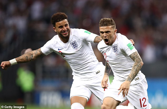 Kyle Walker (L) and Kieran Trippier (R) offer experience as well as tactical versatility at the back