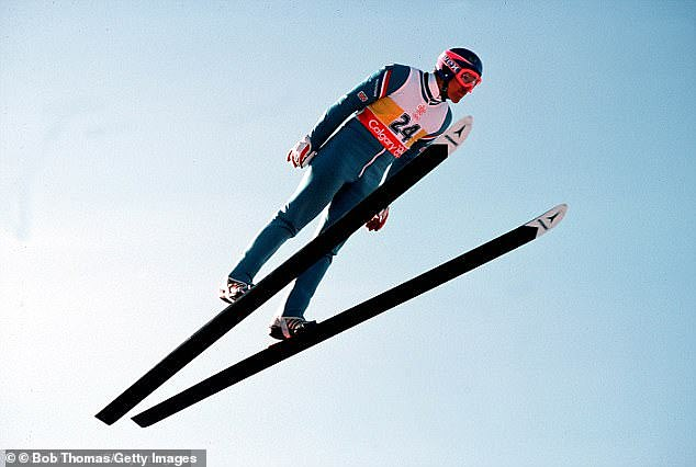 Legendary:Eddie was the first person to represent Great Britain in the Olympic ski jumping when he competed at the Calgary Games in 1988, becoming a household name in the process