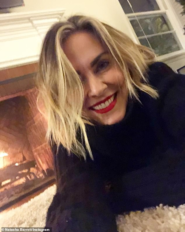 Looking for love:The blonde beauty is a realtor for The Agency, and a bio for her on their website says she enjoys 'traveling the world in search of her soulmate'